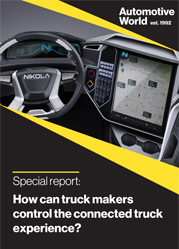 Special report: How can truck makers control the connected truck experience?