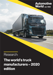 The world's truck manufacturers – 2020 edition