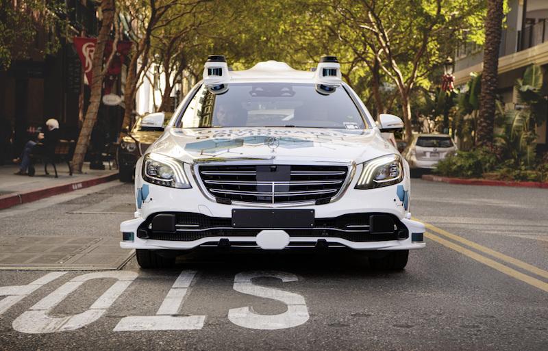 Mercedes-Benz autonomous driving San Jose pilot