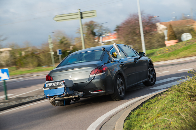 On road PEMS emissions testing