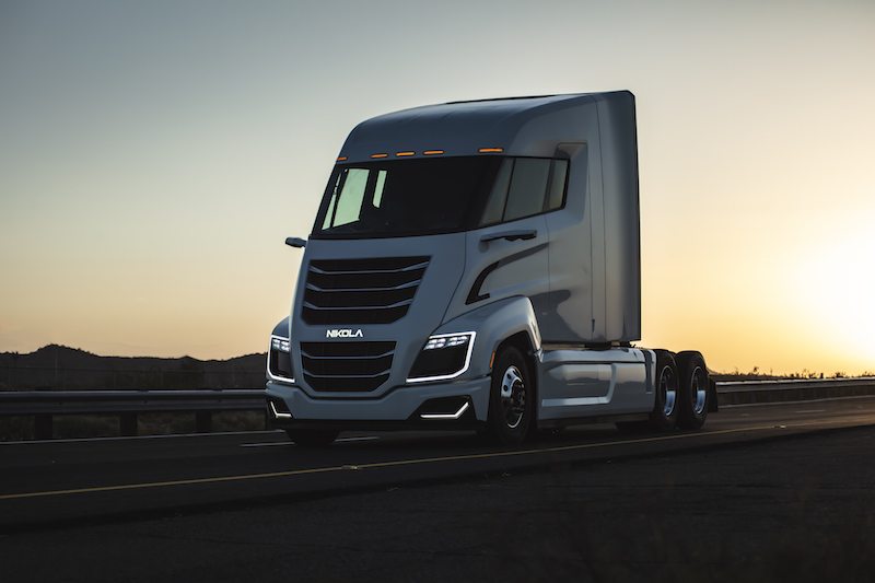 Nikola Two fuel cell truck