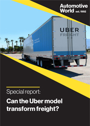 Special report: Can the Uber model transform freight?