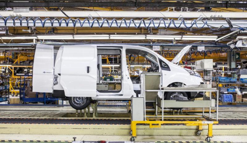 Nissan e-NV200 production Barcelona