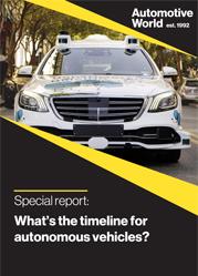 Special report: What's the timeline for autonomous vehicles?