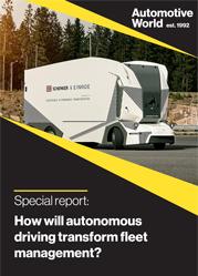 Special report: How will autonomous driving transform fleet management?