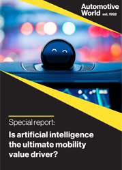 Special report: Is artificial intelligence the ultimate mobility value driver?
