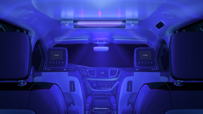 Voyage G3 Interior
