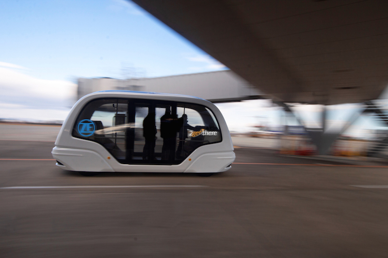 ZF and 2getthere autonomous shuttle