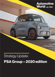 Strategy update: PSA Group - 2020 edition
