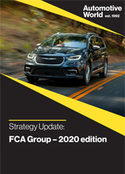 Strategy update: FCA Group – 2020 edition