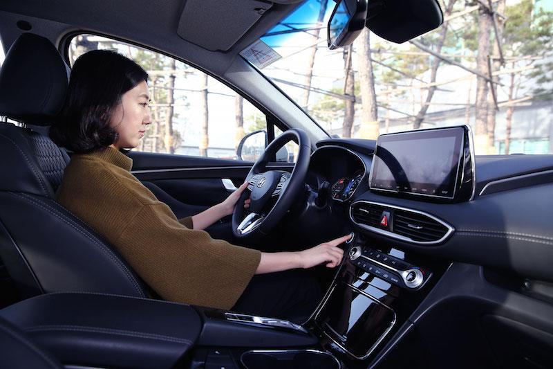 Hyundai Motor reveals world's first smart fingerprint technology to vehicles