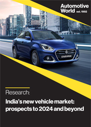 India's new vehicle market: prospects to 2024 and beyond