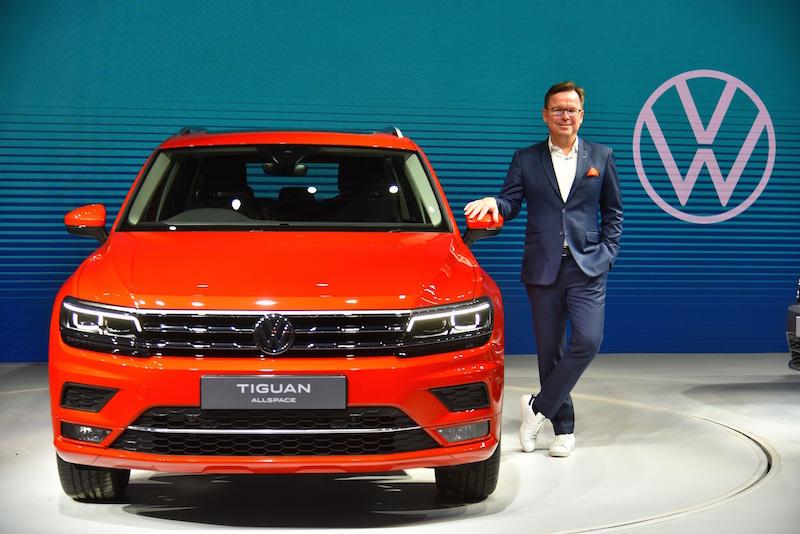 Steffen Knapp, Brand Director, Volkswagen Passenger Cars India
