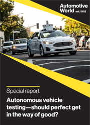 Special Reports: Autonomous vehicle testing—should perfect get in the way of good?
