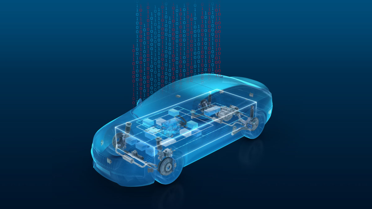 ZF Software-defined Car