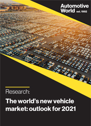 The world's new vehicle market: outlook for 2021