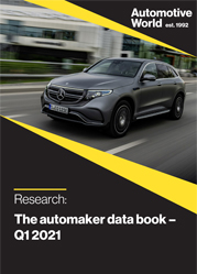 The automaker data book – Q1 2021