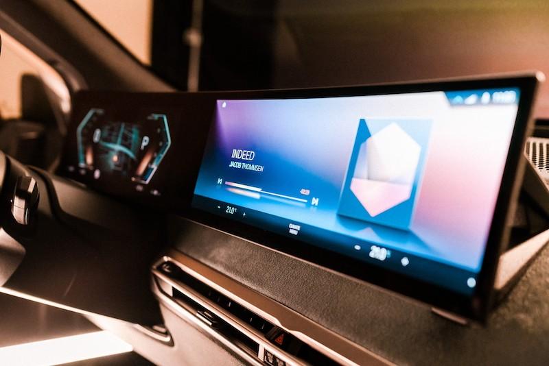 BMW 2021 iDrive in the iX