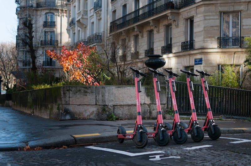 Voi e-scooter parking