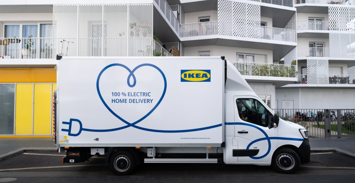 IKEA electric delivery