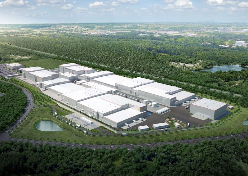 SK Innovation battery factory Georgia render