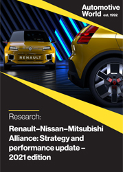 Renault–Nissan–Mitsubishi Alliance: Strategy and performance update – 2021 edition