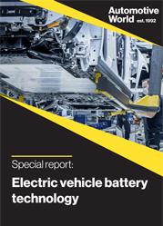 Special report: Electric vehicle battery technology