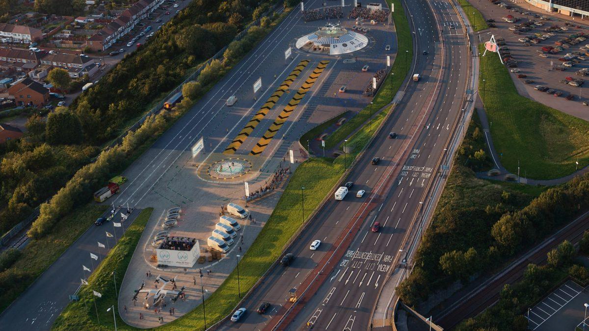 UAM Coventry aerial
