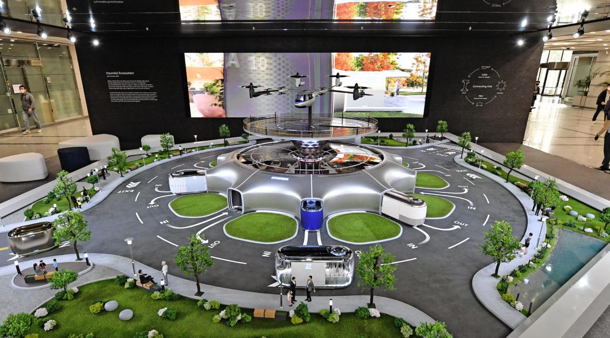 Hyundai的智能行动生态系统的愿景