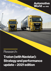 Traton (with Navistar): Strategy and performance update
