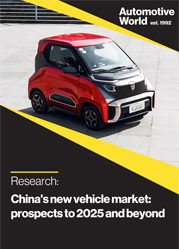 China's new vehicle market: prospects to 2025 and beyond