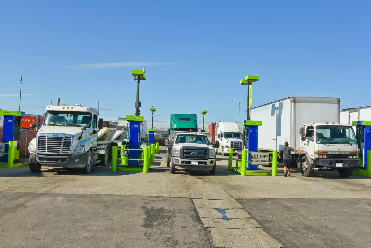 Neste vehicle fuelling