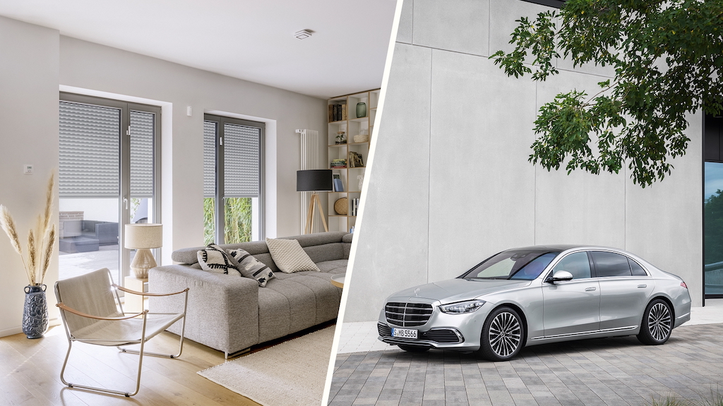Bosch and Daimler smart home connectivity