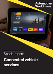 Special report: Connected vehicle services