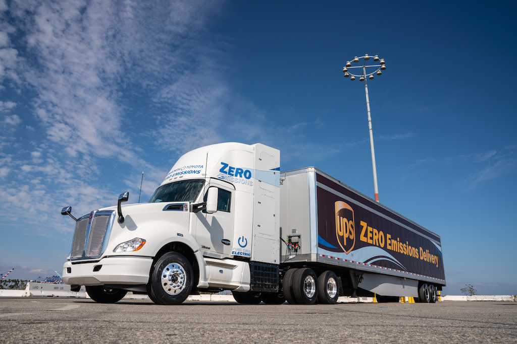 Toyota's Project Portal is seeing hydrogen fuel cell trucks trialled at California ports
