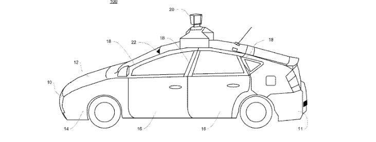 Waymo patent
