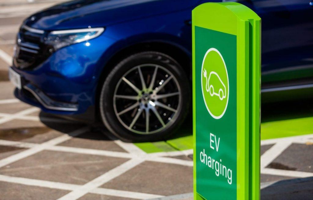 BP Chargemaster Pulse EV charging