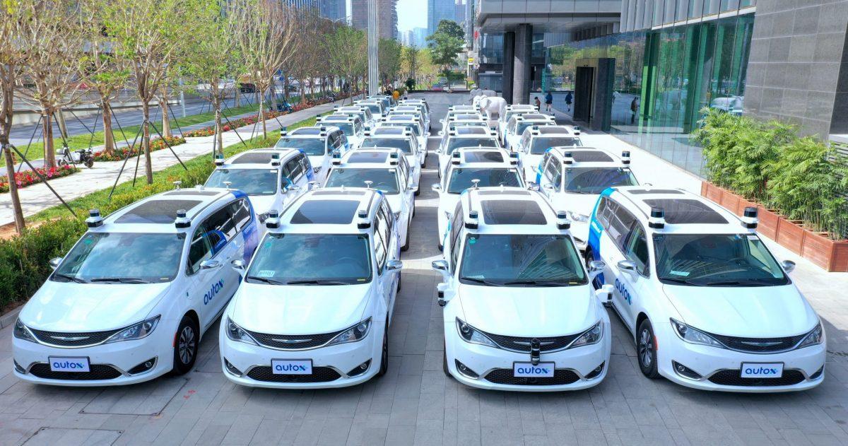 AutoX driverless fleet