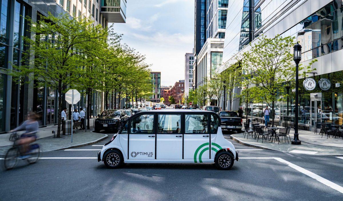 Optimus Ride autonomous vehicles