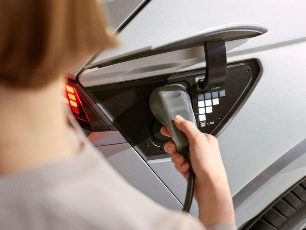 Hyundai Ioniq 5 charging