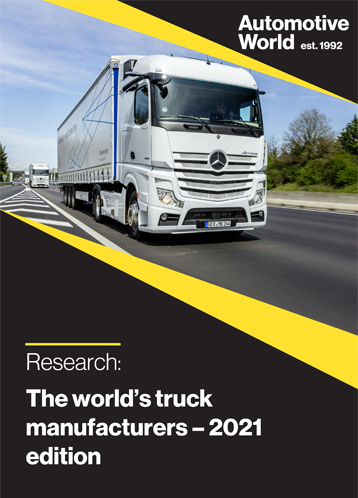 The world's truck manufacturers – 2021 edition