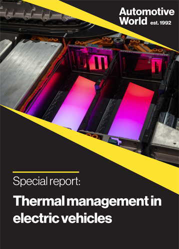 Thermal management in electric vehicles
