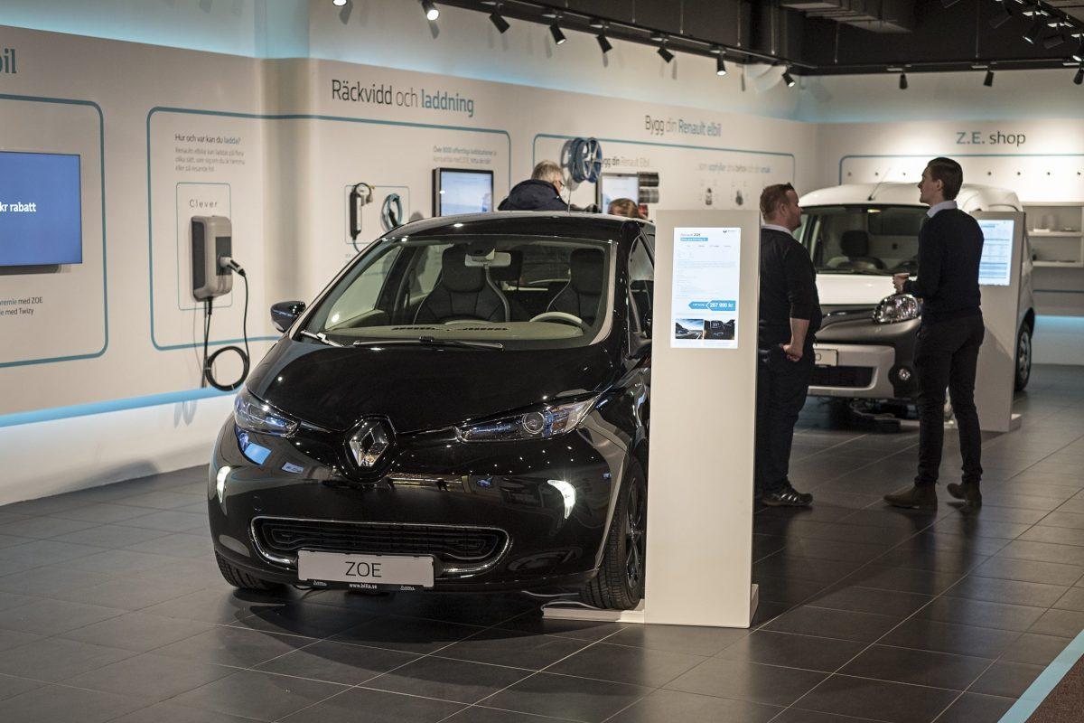 Renault EV Centre Sweden