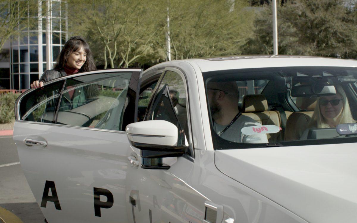 Lyft Aptiv autonomous ride-hailing