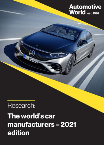 The world's car manufacturers – 2021 edition