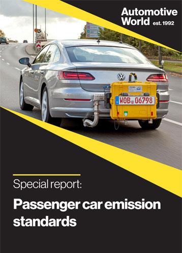 Special report: Passenger car emission standards