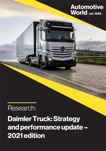 Daimler Truck: Strategy and performance update - 2021 edition
