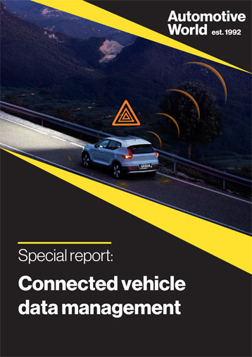 Special report: Connected vehicle data management