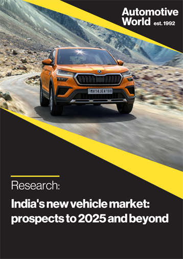 India's new vehicle market: prospects to 2025 and beyond