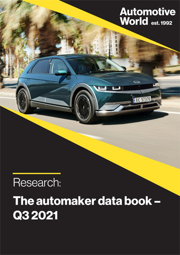 The automaker data book – Q3 2021
